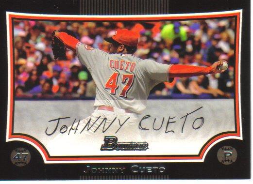 2009 Bowman  #112 Johnny Cueto   Reds