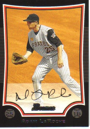 2009 Bowman  #113 Adam LaRoche   Pirates