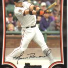 2009 Bowman  #114 Aaron Rowand   Giants