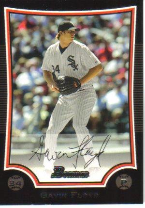 2009 Bowman  #118 Gavin Floyd   White Sox