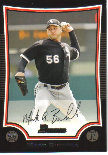 2009 Bowman  #121 Mark Buehrle   White Sox