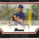 2009 Bowman  #126 Javier Vazquez   Braves
