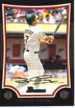 2009 Bowman  #133 Bobby Crosby   A's