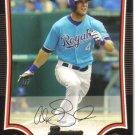 2009 Bowman  #134 Alex Gordon   Royals