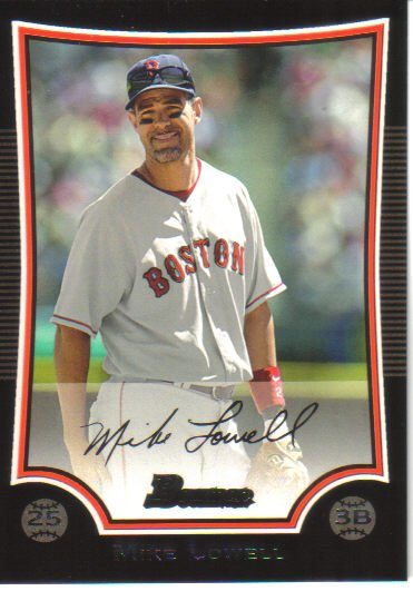 2009 Bowman  #142 Mike Lowell   Red Sox