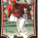 2009 Bowman  #155 Chris Young   Diamondbacks