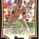 2009 Bowman  #165 Aubrey Huff   Orioles
