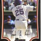 2009 Bowman  #172 Derrek Lee   Cubs
