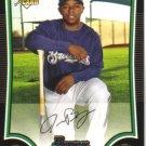2009 Bowman  #193 Jason Bourgeois  RC  Brewers
