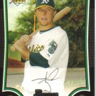 2009 Bowman  #197 Aaron Cunningham  RC  A's