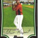 2009 Bowman  #219 Edwin Maysonet  RC  Astros