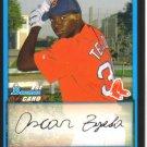 2009 Bowman Prospects  #2 Oscar Tejeda   Red Sox