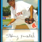 2009 Bowman Prospects  #6 Stolmy Pimentel   Red Sox