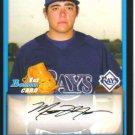 2009 Bowman Prospects  #7 Matthew Moore   Rays