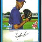 2009 Bowman Prospects  #9 Kelvin De La Cruz   Indians