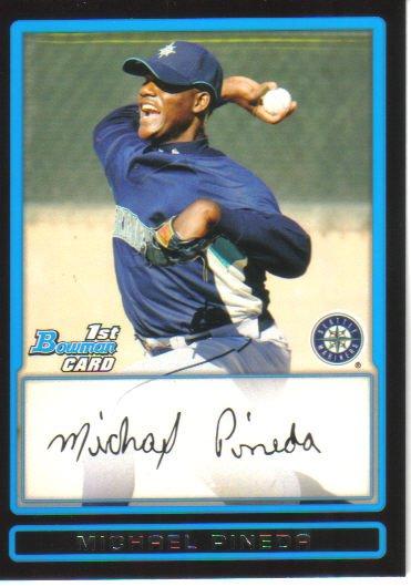 2009 Bowman Prospects  #17 Michael Pineda   Mariners
