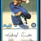 2009 Bowman Prospects  #17 Michael Pineda   Mariners