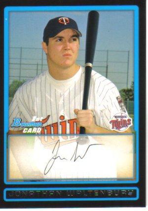 2009 Bowman Prospects  #32 Jonathan Waltenbury   Twins
