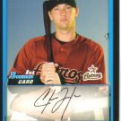 2009 Bowman Prospects  #48 Chris Johnson   Astros