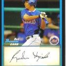 2009 Bowman Prospects  #52 Ruben Tejada   Mets