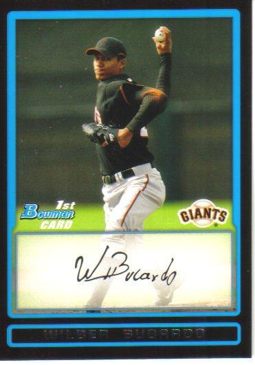 2009 Bowman Prospects  #54 Wilber Bucardo   Giants