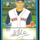 2009 Bowman Prospects  #44 Adam Mills   Red Sox