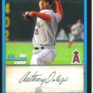 2009 Bowman Prospects  #57 Anthony Ortega   Angels