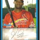 2009 Bowman Prospects  #66 Jarred Bogany   Cardinals