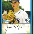 2009 Bowman Prospects  #67 Jason McEachern   Rays