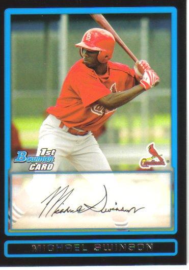 2009 Bowman Prospects  #72 Michael Swinson   Cardinals
