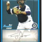 2009 Bowman Prospects  #80 Tommy Johnson   Mariners