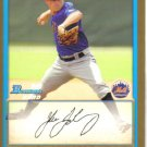 2009 Bowman Prospects Gold  #65 Jacob Goldberg   Mets
