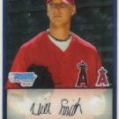 2009 Bowman Prospects Chrome  #13 Will Smith   Angels