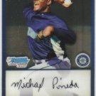2009 Bowman Prospects Chrome  #17 Michael Pineda   Mariners