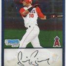 2009 Bowman Prospects Chrome  #22 Luis Jimenez   Angels