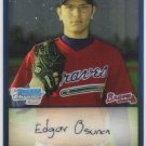 2009 Bowman Prospects Chrome  #33 Edgar Osuna   Braves