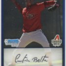 2009 Bowman Prospects Chrome  #40 Cristian Beltra   Diamondbacks