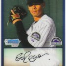 2009 Bowman Prospects Chrome  #46 Esmil Rogers   Rockies