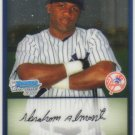 2009 Bowman Prospects Chrome  #49 Abraham Almonte   Yankees