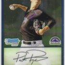 2009 Bowman Prospects Chrome  #59 Parker Frazier   Rockies