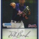 2009 Bowman Prospects Chrome  #82 Robert Brooks   Braves