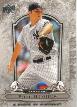 2008 Upper Deck Piece of History  #68 Phil Hughes   Yankees