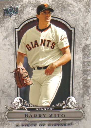 2008 Upper Deck Piece of History  #81 Barry Zito   Giants