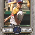 2009 Upper Deck Piece of History  #5 Chipper Jones   Braves