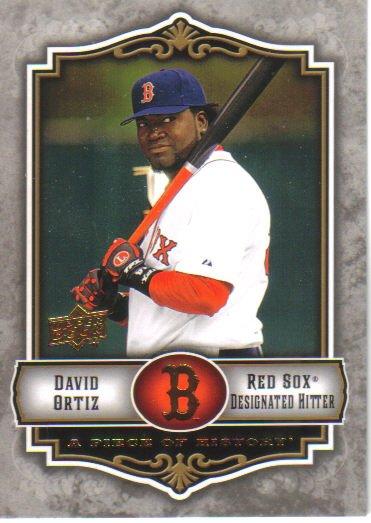 2009 Upper Deck Piece of History  #13 David Ortiz   Red Sox