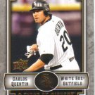 2009 Upper Deck Piece of History  #21 Carlos Quentin   White Sox