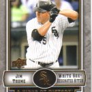 2009 Upper Deck Piece of History  #22 Jim Thome   White Sox