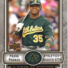 2009 Upper Deck Piece of History  #69 Frank Thomas   A's