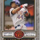2009 Upper Deck Piece of History  #100 Lastings Milledge   Nationals