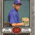 2009 Upper Deck Piece of History  #140 Jose Mijares  RC  Twins
